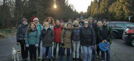Weihnachtsfeier der Tempo-Laufgruppe und Nordic-Walking-Gruppe am 26.11.2016