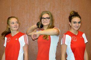 Stina Ackermann, Angi Lehmann, Lea Ahrens