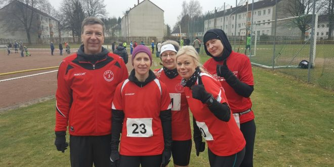 Landesmeisterschaft im Crosslauf in Bergen bei Celle am 12.02.2017