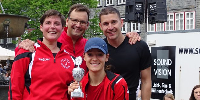 Goslarer Altstadtlauf 2017- die Tempolaufgruppe räumt ab