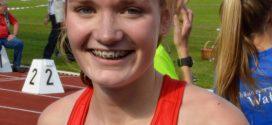 Schüler-Vergleichswettkampf der U16 in Kiel – Stina Ackermann gewinnt 800m-Lauf