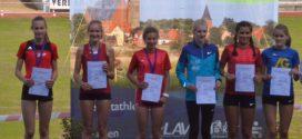 LM Einzel U16 & U20:     Stina Ackermann überrascht mit Platz 2 über 800m