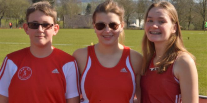 Guter Saisonauftakt für Leichtathletikteam in Uslar