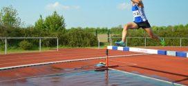 Starke Leistungen der Leichtathleten