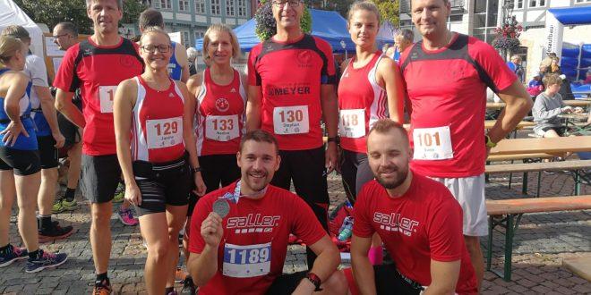 LAV 07 Bad Harzburg erfolgreich bei Bezirksmeisterschaften im Halbmarathon